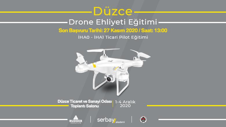 Düzce Drone Ehliyeti Eğitimi